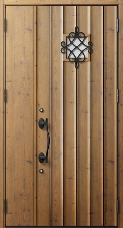 ジエスタ2 防火戸 GIESTA D52型 K2仕様 親子ドア 内外同テイスト W:1,240mm×H:2,330mm 断熱 玄関 ドア リクシル LIXIL