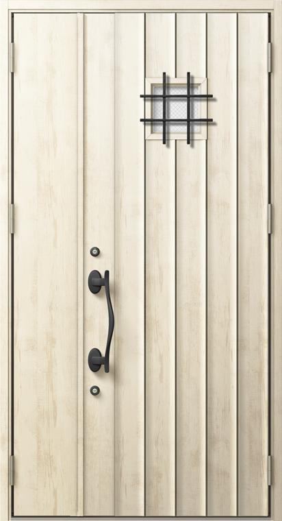 ジエスタ2 防火戸 GIESTA D54型 K4仕様 親子ドア 内外同テイスト W:1,240mm×H:2,330mm 断熱 玄関 ドア リクシル LIXIL