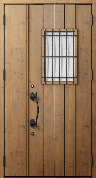 ジエスタ2 防火戸 GIESTA D64型 K2仕様 親子ドア 内外同テイスト W:1,240mm×H:2,330mm 断熱 玄関 ドア リクシル LIXIL