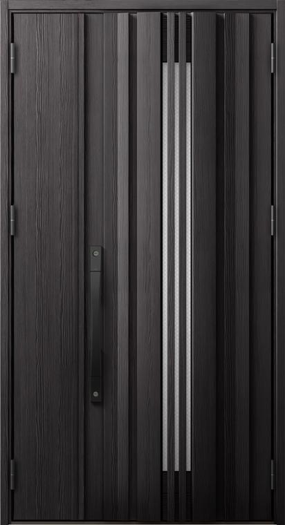 ジエスタ2 防火戸 GIESTA G81型 K4仕様 親子ドア 入隅タイプ 採風デザイン W:1,138mm×H:2,330mm 断熱 玄関 ドア リクシル LIXIL