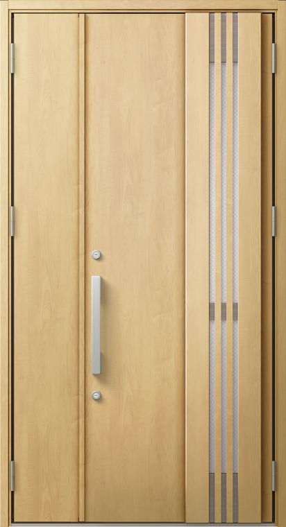 ジエスタ2 防火戸 GIESTA M83型 K4仕様 親子ドア 採風デザイン W:1,240mm×H:2,330mm 断熱 玄関 ドア リクシル LIXIL