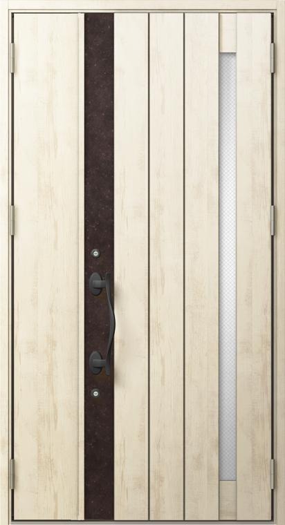 ジエスタ2 防火戸 GIESTA P13型 K4仕様 親子ドア 入隅タイプ W:1,138mm×H:2,330mm 断熱 玄関 ドア リクシル LIXIL