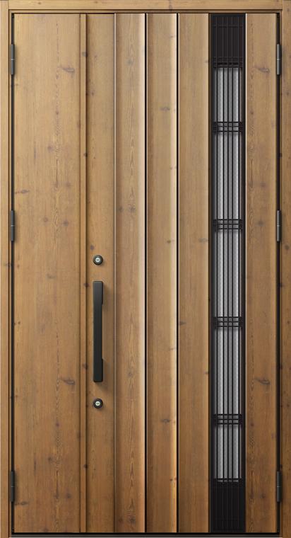 ジエスタ2 防火戸 GIESTA P82型 K4仕様 親子ドア 入隅タイプ 採風デザイン W:1,138mm×H:2,330mm 断熱 玄関 ドア リクシル LIXIL