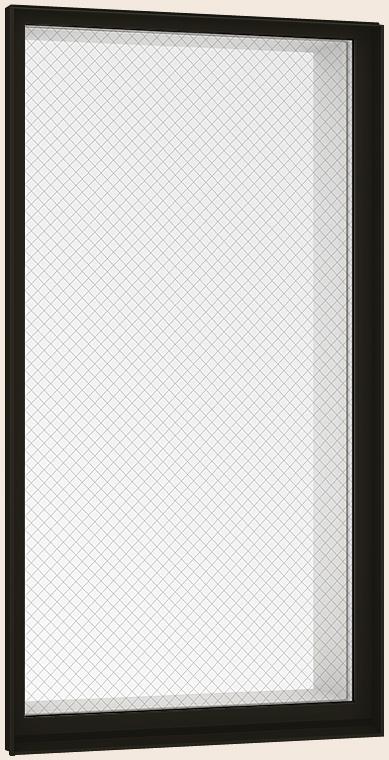 防火戸FG-L FIX窓 内押縁タイプ Low-E複層ガラス(網入り) / アルミスペーサー仕様 01620M W:200mm × H:2,070mm リクシル トステム