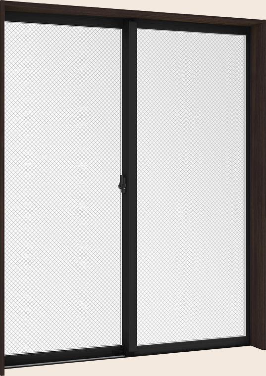 防火戸FG-L LOW-E複層ガラス 樹脂アルミ複合サッシ 引違い窓 2枚建 呼称 16503 W:1690mm×H:370mm LIXIL リクシル TOSTEM トステム