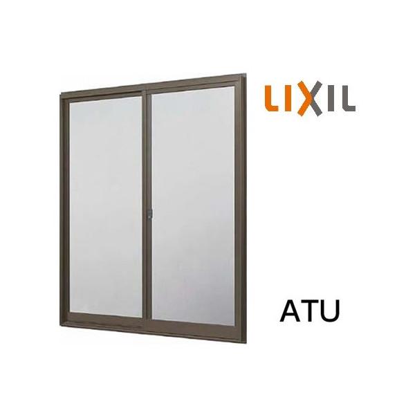 LIXIL トステム 窓サッシ 引き違い窓 ATU CTシリーズ 単体サッシ 内付型 2枚建 単板ガラス 呼称 256222 W:2600mm × H:2230mm