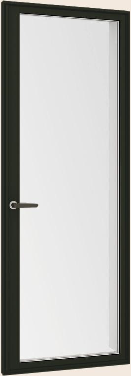 サーモスII-H LOW-E複層ガラス 樹脂アルミ複合 テラスドア 半外付型 呼称 07418 W : 780mm×H : 1,830mm LIXIL リクシル TOSTEM トステム