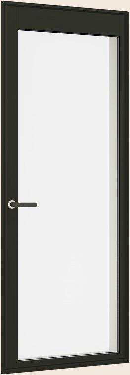 サーモスII-H LOW-E複層ガラス 樹脂アルミ複合 勝手口ドア(全面ガラス) 半外付型 呼称 06922 W730mm×H2,230mm LIXIL リクシル TOSTEM トステム