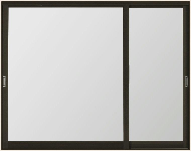 インプラス 内窓 引違い窓 変則逆勝手2枚建 複層ガラス 透明3mm-A12-透明3mm W:1001~1500mm×H:1401~1900mm TOSTEM LIXIL DIY 二重窓 リフォーム