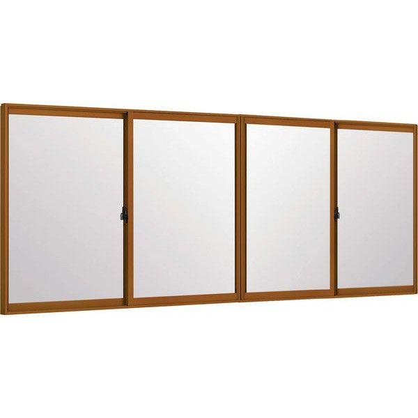 インプラス(ダストバリア) 引違い窓 4枚建 複層ガラス 透明3mm-A12-和紙調3mm組子なし W:1500~2000mm×H:258~600mm TOSTEM LIXIL DIY リフォーム