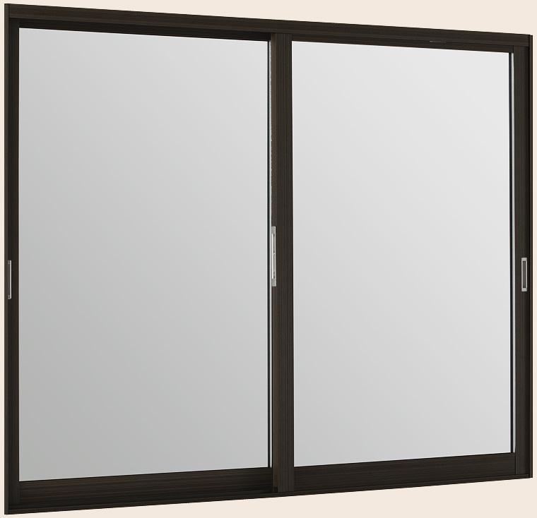 インプラスウッド 引違い窓 2枚建 一般複層透明ガラス W:2,001~2,500mm × H:1,401~1,900mm 内窓 二重窓 LIXIL リクシル TOSTEM トステム