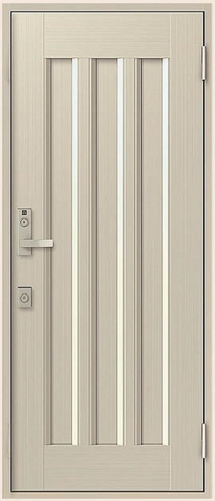 クリエラR 片開きドア 19型 半外付型 ランマなし 鎌付箱錠仕様 特注寸法 W:818mm H:1,717~2,017mm LIXIL リクシル TOSTEM トステム DIY リフォーム