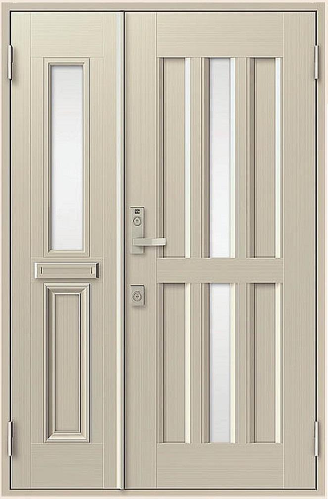クリエラR 親子ドア 15型 半外付型 ランマなし W:1,240mm × H:1,917mm LIXIL リクシル TOSTEM トステム DIY リフォーム