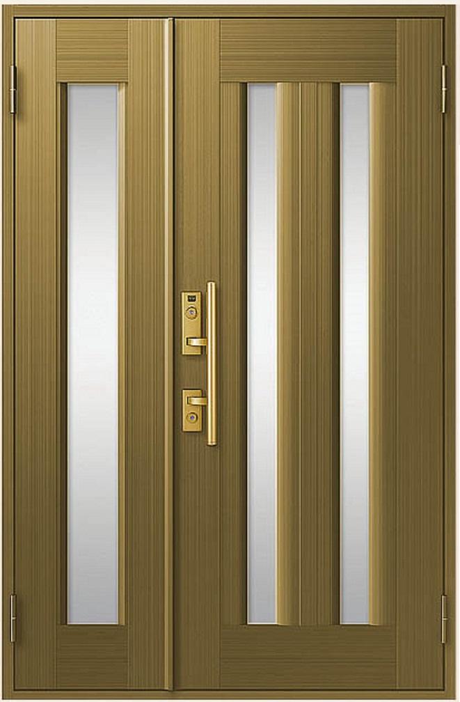 クリエラR 親子ドア 17型 内付型 ランマなし 鎌付箱錠仕様 W:1,240mm × H:1,906mm LIXIL リクシル TOSTEM トステム DIY リフォーム