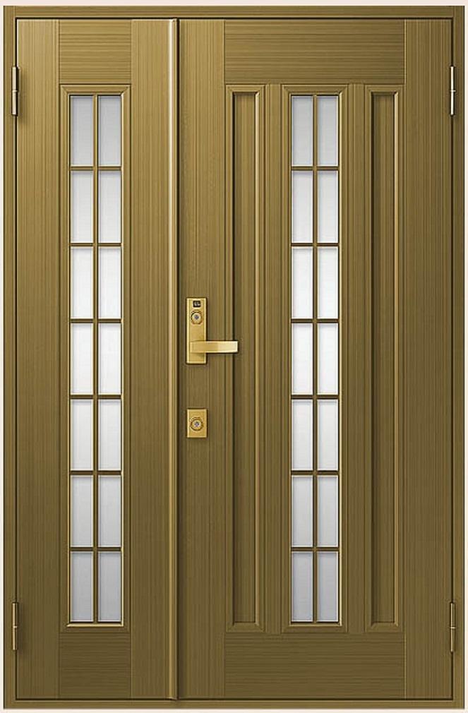 クリエラR 親子ドア 20型 半外付型 ランマなし 鎌付箱錠仕様 W:1,240mm × H:1,917mm LIXIL リクシル TOSTEM トステム DIY リフォーム