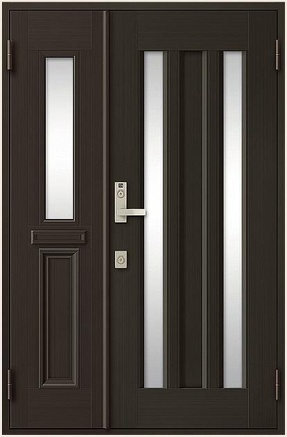 クリエラR 親子ドア 18型 ポスト付き 内付型 ランマなし W:1,240mm × H:1,906mm LIXIL リクシル TOSTEM トステム DIY リフォーム