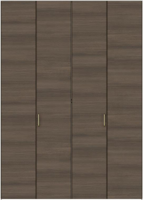 ラシッサD ラテオ クローゼット 折戸すっきりタイプ 4枚折戸 ALCD-LAA 1623 W:1,644mm × H:2,306mm ノンケーシング LIXIL リクシル TOSTEM トステム