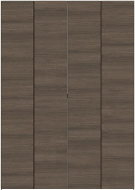 ラシッサD ラテオ クローゼット 折戸すっきりタイプ 4枚折戸 ALCD-LAD 1223 W:1,188mm × H:2,306mm ノンケーシング LIXIL リクシル TOSTEM トステム