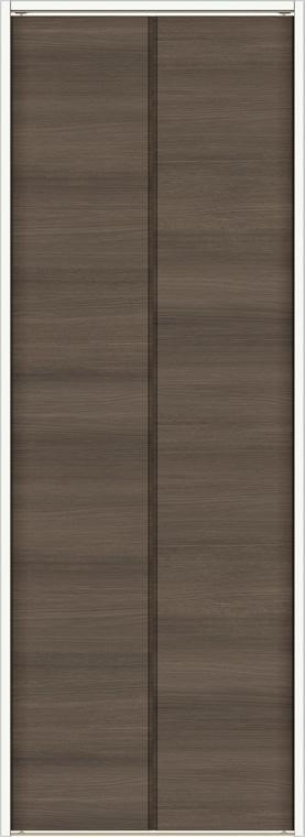 ラシッサD ラテオ クローゼット 折戸レールタイプ 2枚折戸 ALCF-LAD 08m20 W:824mm × H:2,023mm ノンケーシング / ケーシング LIXIL リクシル TOSTEM