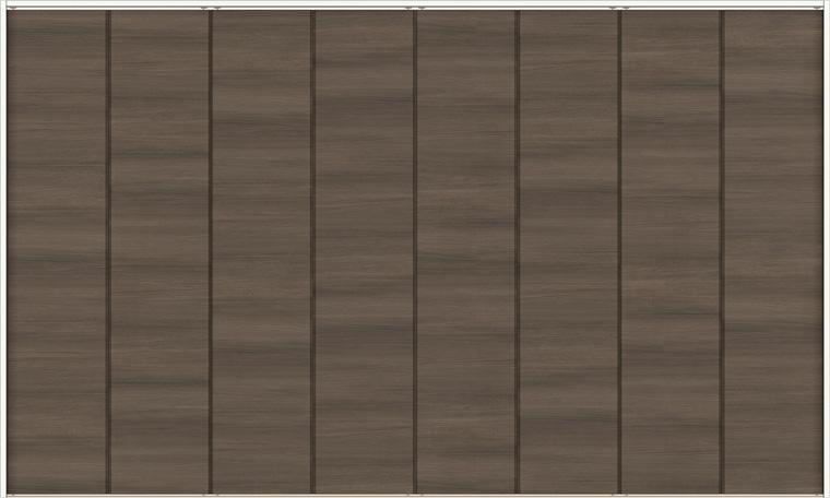 ラシッサD ラテオ クローゼット 折戸レールタイプ 8枚折戸 ALCF-LAD 3423 W:3,376mm × H:2,306mm ノンケーシング / ケーシング LIXIL リクシル TOSTEM