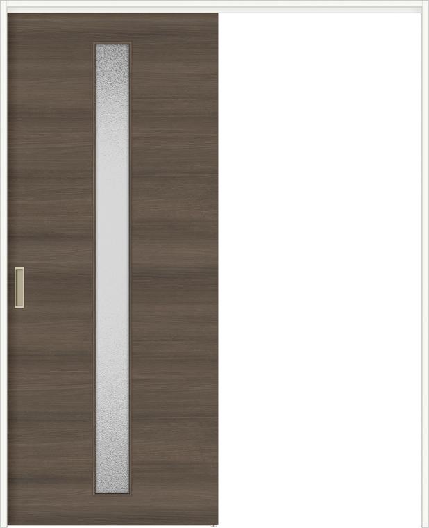 特注サイズ ラシッサDラテオ 室内引戸 間仕切り上吊引戸 片引戸標準 ALMKH-LAA 錠無し W:1092-1992mm × H:1750-2426mm ノンケーシング / ケーシング
