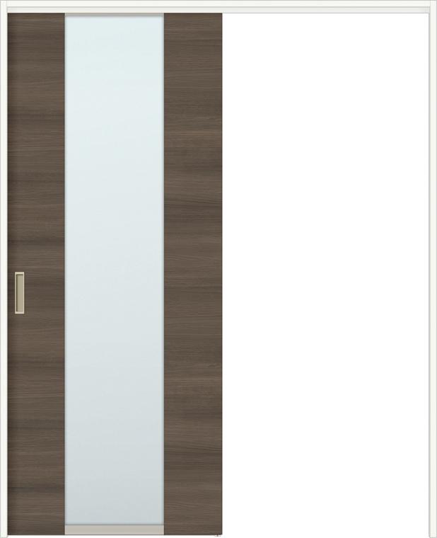 ラシッサD ラテオ 室内引戸 間仕切り 上吊引戸 片引戸 標準タイプ ALMKH-LGN 錠無し 1623 W:1,644mm × H:2,306mm ノンケーシング / ケーシング LIXIL TOSTEM