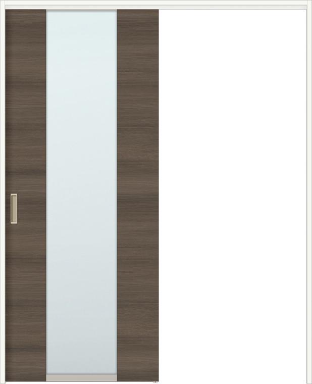 ラシッサD ラテオ 上吊引戸 片引戸標準 ALUK-LGN 1220N 錠無し W:1,188mm × H:2,023mm ノンケーシング / ケーシング LIXIL リクシル TOSTEM トステム