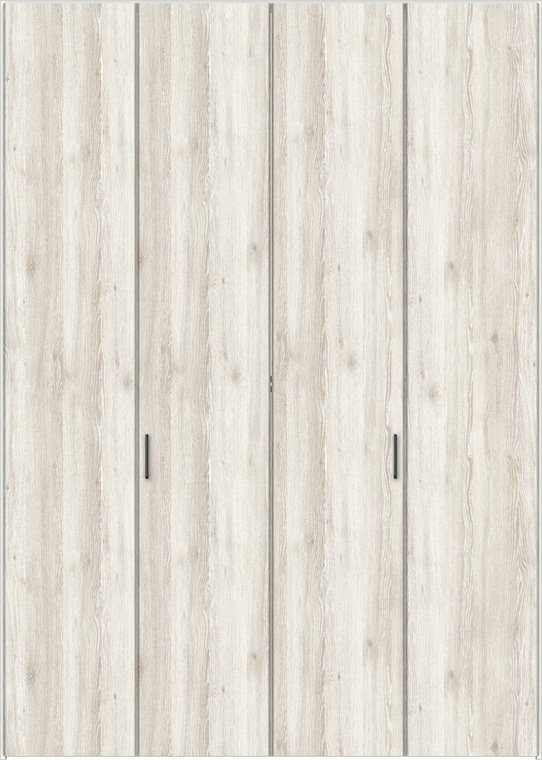 特注サイズ ラシッサD パレット クローゼット 折戸すっきりタイプ 4枚折戸 APCD-LAA W:1020-1820mm × H:1518-2425mm ノンケーシング LIXIL