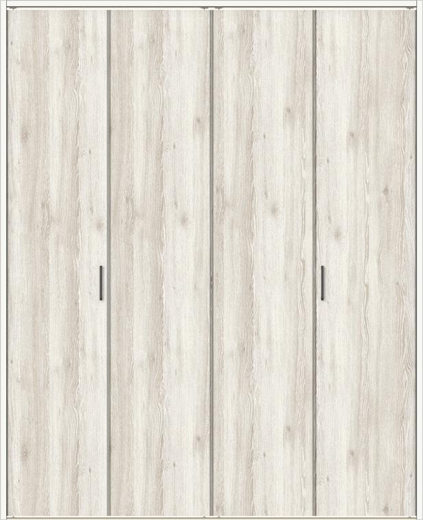 ラシッサDパレット クローゼット 折戸レールタイプ 4枚折戸 APCF-LAA 1720 W:1,708mm × H:2,023mm ノンケーシング / ケーシング LIXIL リクシル TOSTEM トステム