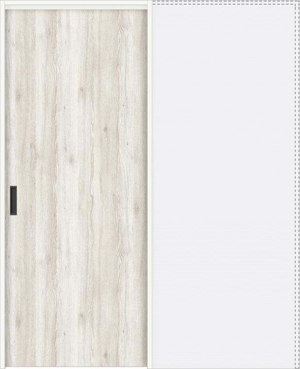 ラシッサD パレット 上吊引戸 引込み戸標準 APUHK-LAA 1820J 錠付 W:1,824mm × H:2,023mm ノンケーシング / ケーシング LIXIL リクシル TOSTEM トステム