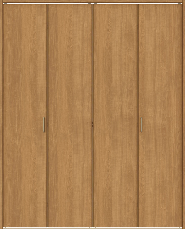 ラシッサS クローゼット 折戸レールタイプ 4枚折戸 ASCF-LAA 1620 W:1,644mm × H:2,023mm ノンケーシング / ケーシング LIXIL リクシル TOSTEM トステム