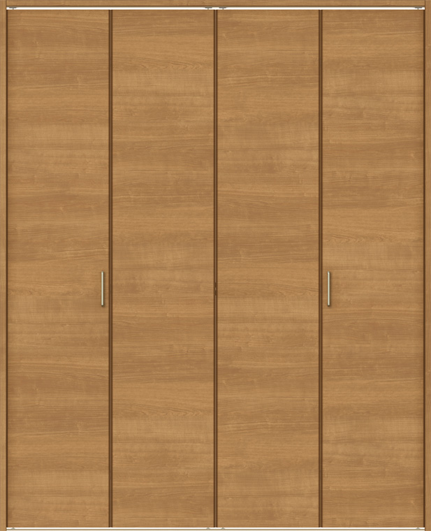 ラシッサS クローゼット 折戸レールタイプ 4枚折戸 ASCF-LAB 1220 W:1,188mm × H:2,023mm ノンケーシング / ケーシング LIXIL リクシル TOSTEM トステム