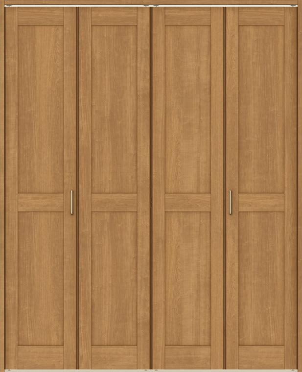 ラシッサS クローゼット 折戸レールタイプ 4枚折戸 ASCF-LAC 1720 W:1,708mm × H:2,023mm ノンケーシング / ケーシング LIXIL リクシル TOSTEM トステム