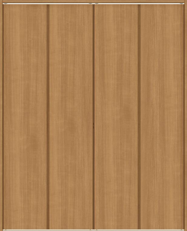 ラシッサS クローゼット 折戸レールタイプ 4枚折戸 ASCF-LAD 1223 W:1,188mm × H:2,306mm ノンケーシング / ケーシング LIXIL リクシル TOSTEM トステム