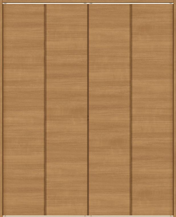 ラシッサS クローゼット 折戸レールタイプ 4枚折戸 ASCF-LAE 13m23 W:1,324mm × H:2,306mm ノンケーシング / ケーシング LIXIL リクシル TOSTEM トステム