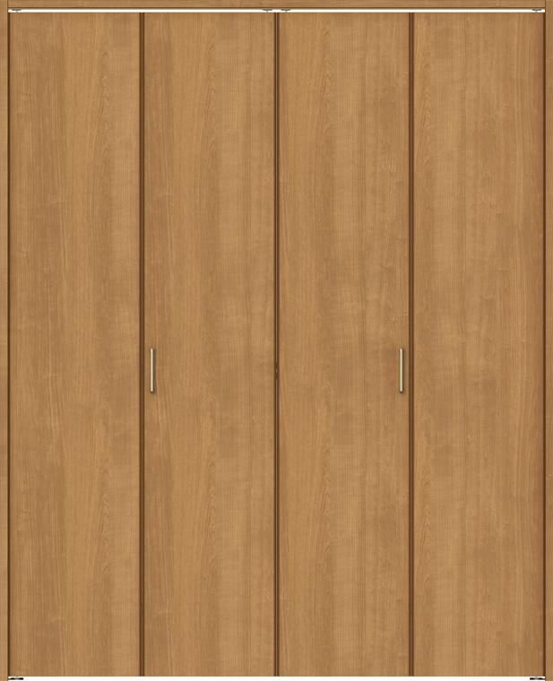 ラシッサS クローゼット 折戸ノンレールタイプ 4枚折戸 ASCN-LAA 18m20 W:1,824mm × H:2,023mm ノンケーシング / ケーシング LIXIL リクシル TOSTEM トステム