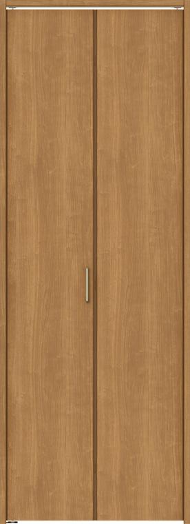 ラシッサS クローゼット 折戸ノンレールタイプ 2枚折戸 ASCN-LAA 08m23 W:824mm × H:2,306mm ノンケーシング / ケーシング LIXIL リクシル TOSTEM トステム