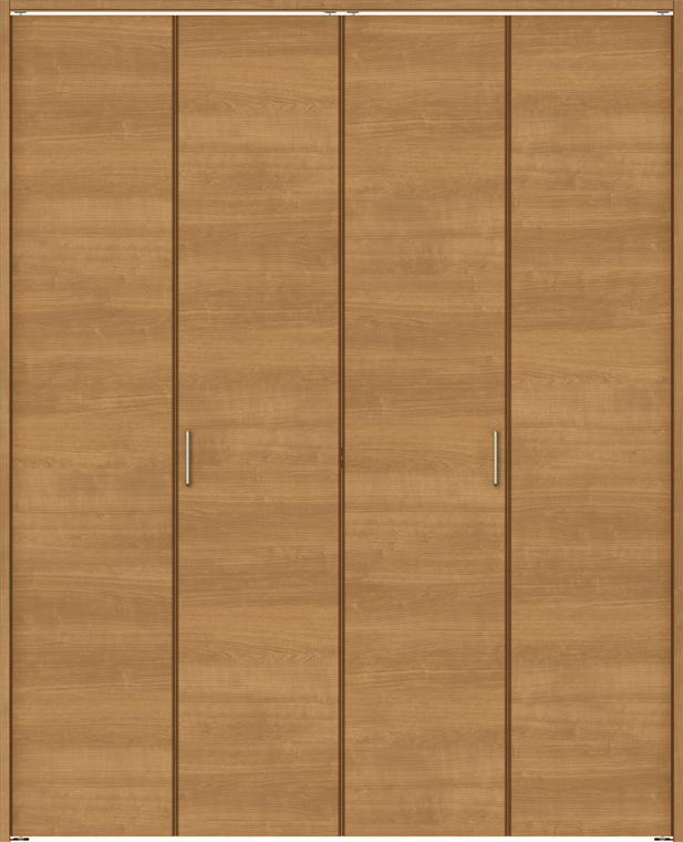 ラシッサS クローゼット 折戸ノンレールタイプ 4枚折戸 ASCN-LAB 18m23 W:1,824mm × H:2,306mm ノンケーシング / ケーシング LIXIL リクシル TOSTEM トステム