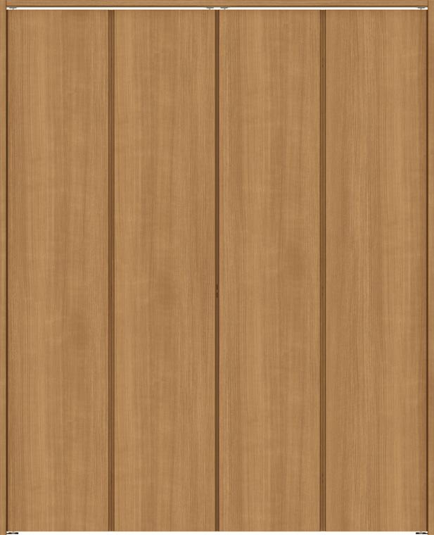 ラシッサS クローゼット 折戸ノンレールタイプ 4枚折戸 ASCN-LAD 1223 W:1,188mm × H:2,306mm ノンケーシング / ケーシング LIXIL リクシル TOSTEM トステム