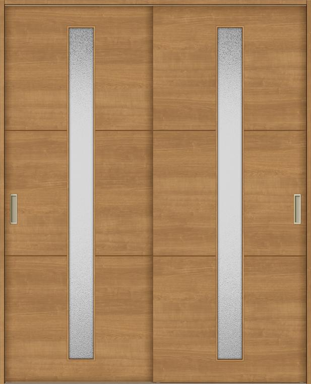 ラシッサS 室内引戸 Vレール方式 引違い2枚建て ASHH-LGD 錠無し 1820 W:1,824mm × H:2,023mm ノンケーシング / ケーシング LIXIL リクシル TOSTEM