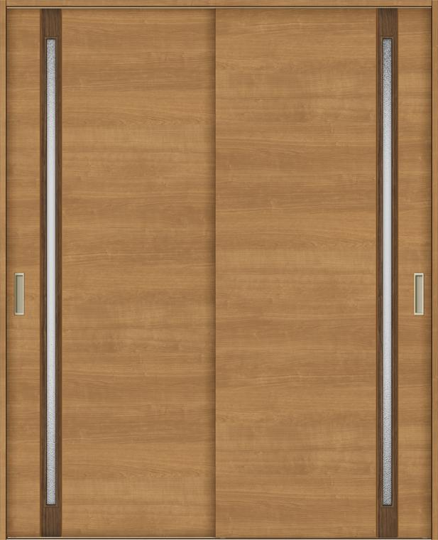 ラシッサS 室内引戸 Vレール方式 引違い2枚建て ASHH-LGF 錠無し 1620 W:1,644mm × H:2,023mm ノンケーシング / ケーシング LIXIL リクシル TOSTEM