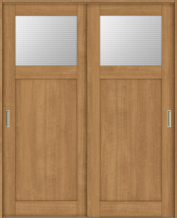 ラシッサS 室内引戸 Vレール方式 引違い2枚建て ASHH-LGJ 錠無し 1820 W:1,824mm × H:2,023mm ノンケーシング / ケーシング LIXIL リクシル TOSTEM