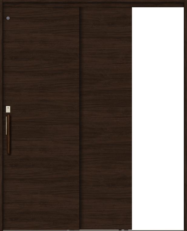 特注サイズ ラシッサS 室内引戸 機能付き引戸 連動方式 片引戸2枚建 ASHRD-LAB 錠付 W:1386-2061mm × H:1823-2150mm ノンケーシング/ケーシング LIXIL TOSTEM