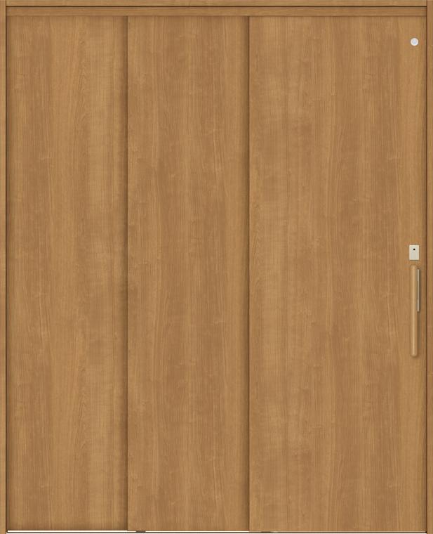 特注サイズ ラシッサS 室内引戸 機能付き引戸 連動方式 片引戸3枚建 ASHRT-LAA 錠付 W:1386-2061mm × H:1823-2150mm ノンケーシング/ケーシング LIXIL TOSTEM
