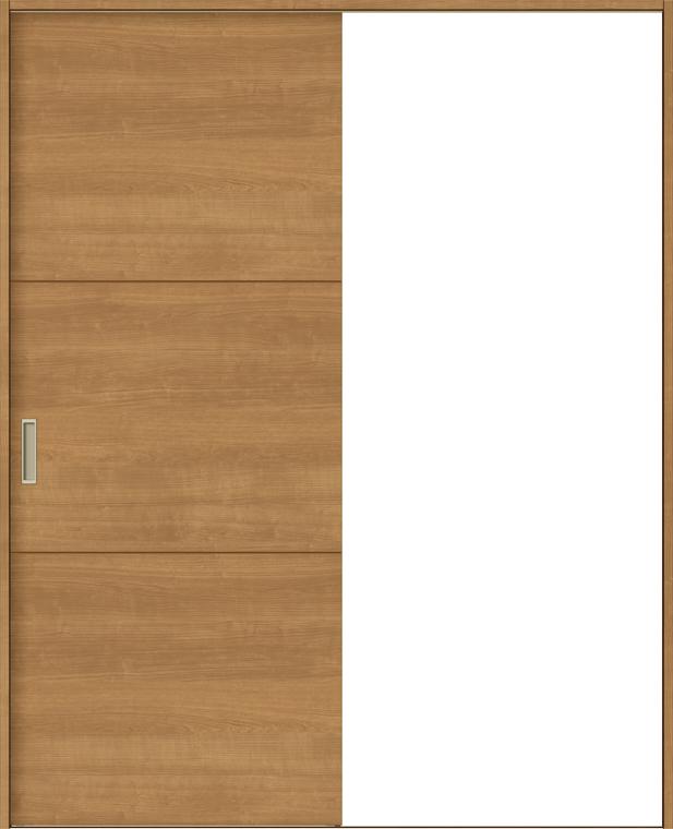 ラシッサS 室内引戸 Vレール方式 片引戸 標準タイプ ASKH-LAD 錠付き 1320 W:1,324mm × H:2,023mm ノンケーシング / ケーシング LIXIL リクシル TOSTEM
