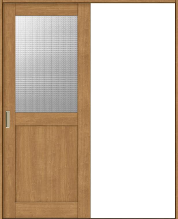 ラシッサS 室内引戸 Vレール方式 片引戸 標準タイプ ASKH-LGH 鍵なし 1220 W:1,188mm × H:2,023mm ノンケーシング / ケーシング LIXIL リクシル TOSTEM