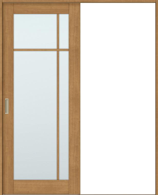 ラシッサS 室内引戸 Vレール方式 片引戸 標準タイプ ASKH-LGK 鍵なし 1220 W:1,188mm × H:2,023mm ノンケーシング / ケーシング LIXIL リクシル TOSTEM