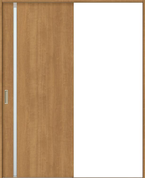 ラシッサS 室内引戸 Vレール方式 片引戸 標準タイプ ASKH-LGL 錠付き 1220 W:1,188mm × H:2,023mm ノンケーシング / ケーシング LIXIL リクシル TOSTEM