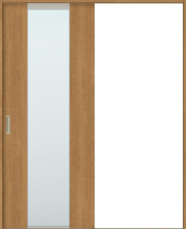 ラシッサS 室内引戸 Vレール方式 片引戸 標準タイプ ASKH-LGN 錠付き 1220 W:1,188mm × H:2,023mm ノンケーシング / ケーシング LIXIL リクシル TOSTEM