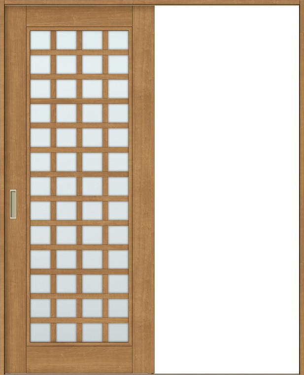 特注サイズ ラシッサS 室内引戸 Vレール方式 片引戸 標準タイプ ASKH-LGS 錠無し W:1188-1992mm × H:1728-2425mm ノンケーシング/ケーシング LIXIL TOSTEM